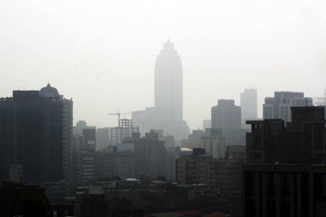 air pollution in Taiwan