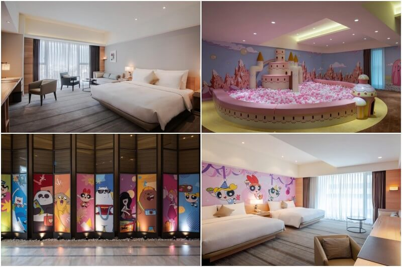 HOTEL COZZI Ximen Tainan is a family-oriented hotel.
