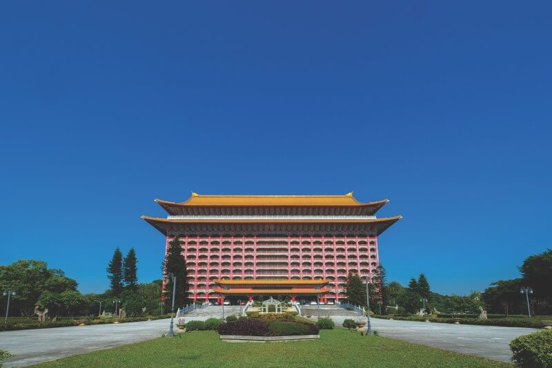 The Grand Hotel is one of the most iconic buildings in Taipei, with its awe-inspiring palatial architecture.