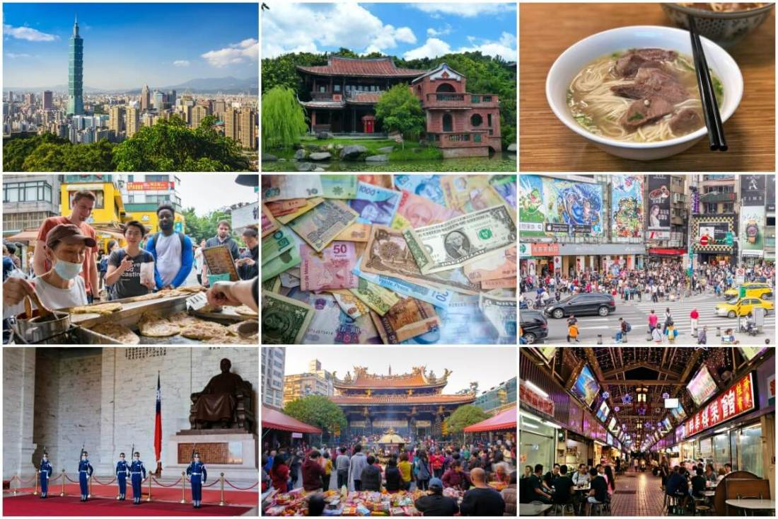 The most budget-friendly itinerary to explore Taipei in a day.
