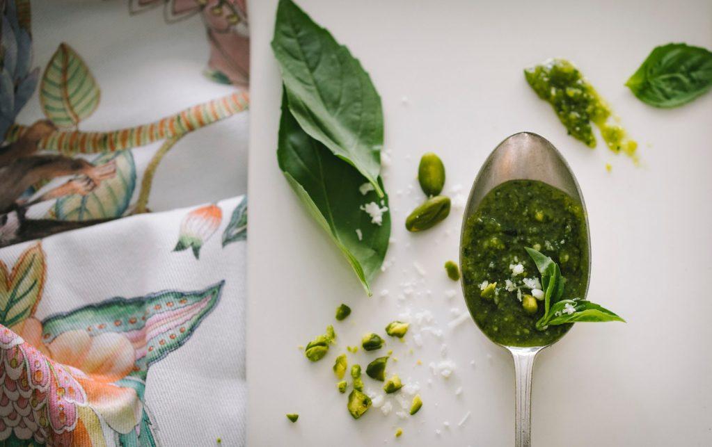 鮮綠茶葉香
