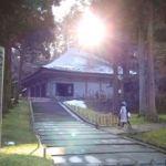 中尊寺のお守り、中国の学生へのお土産