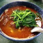 老王紅焼牛肉麺。愛想ないけど美味しい台北のお店。