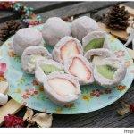 熱血採訪│北區紅土丘陵●土鳳梨酥|真心芋泥球 -- 天然又好吃的芋泥球、包餡芋泥球,草莓口味限量供應中