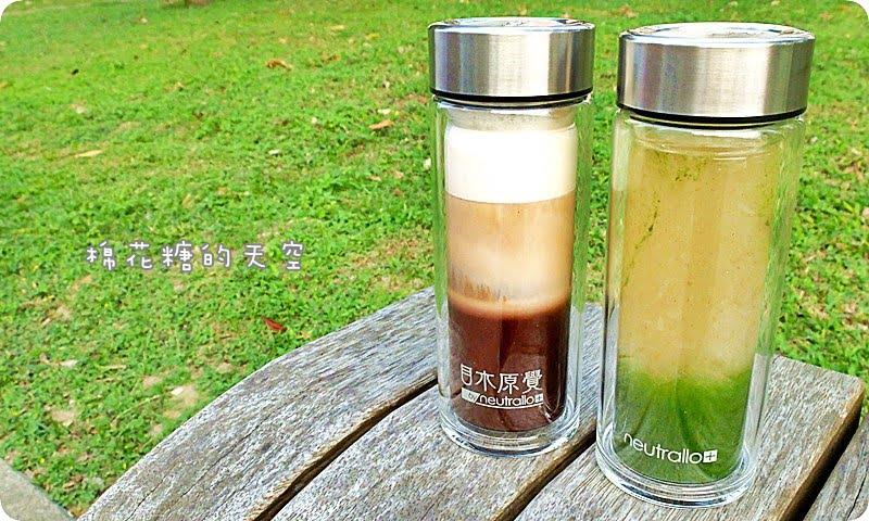 熱血採訪||台中最新IG人氣飲料店-目木原覺,限量雙層玻璃瓶內裝美美分層飲品,抹茶搭配滑口雪耳~滿滿的膠原蛋白呀!