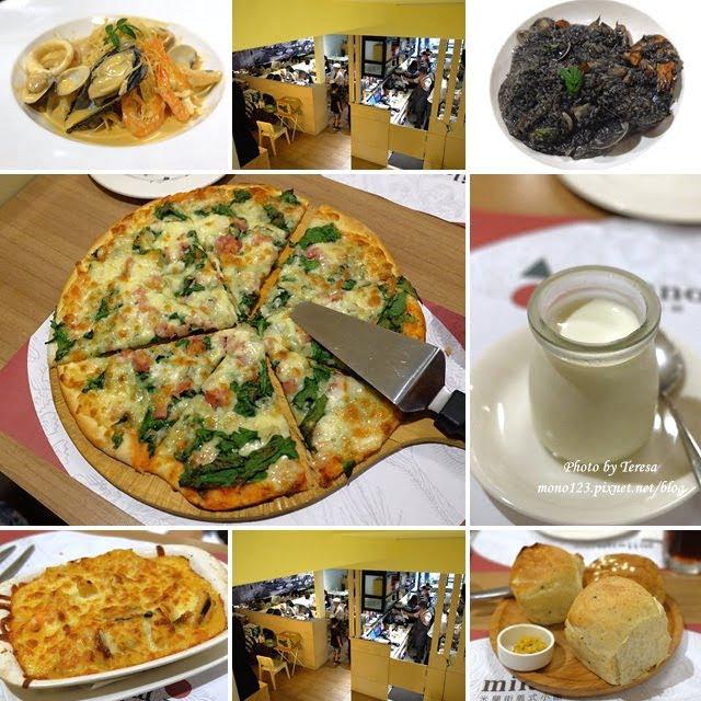 【台中西屯.義式料理】milano 米蘭街義式小餐館.中科商圈義式餐廳,份量多、價格平實,只是這天吃到的燉飯和義大利麵都太軟…