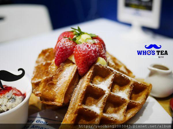 【熱血採訪】台中西屯 Who's tea鬍子茶,2月草莓季推出限量草莓特餐,草莓拿鐵、草莓帕里尼就是要粉,鄰近逢甲商圈、星享道酒店對面