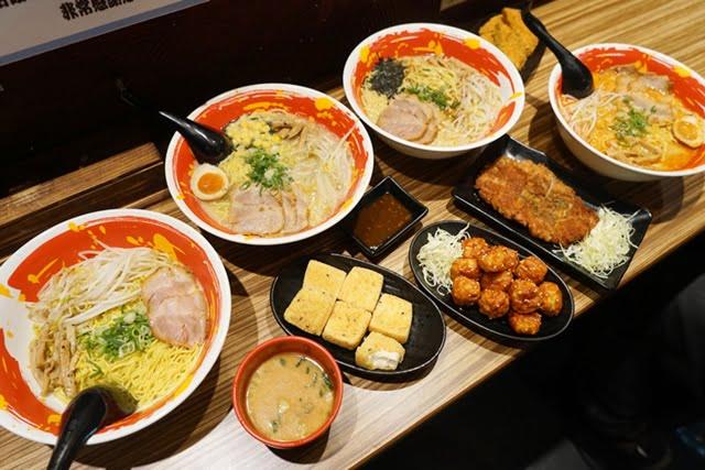[熱血採訪]豚將日式豚骨拉麵 最平價的吃到飽 55元起 加麵不用錢 還有多種小菜