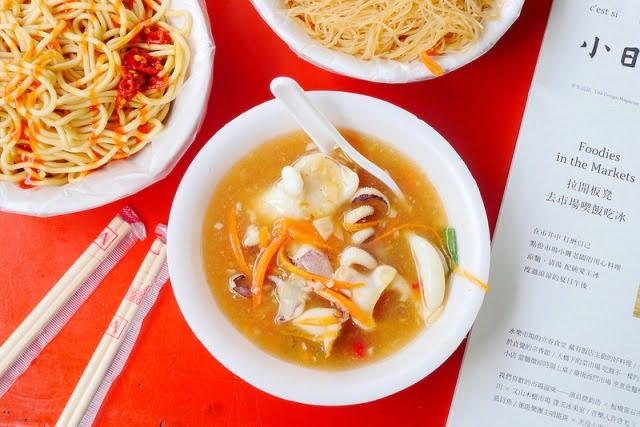 成都路生炒花枝羹│只賣星期六 每碗70元花枝大塊鮮脆還能免費加湯!