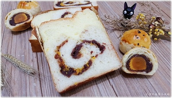 熱血採訪│品麵包,台中最夯伴手禮。蛋黃酥大變身成「蛋黃酥蛋糕吐司」啦~