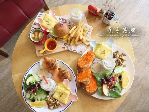 栗子窩│IG熱門打卡咖啡館~裝潢充滿濃濃英國風!提供手作早午餐,還有英倫下午茶系列