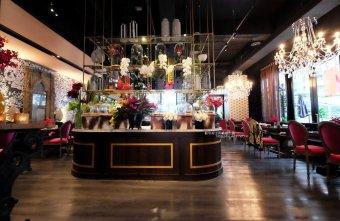 WOO Taiwan台中米平方店-宮廷華麗超好拍浮誇系美店.來自清邁正宗泰式料理.台中第一家分店