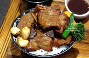 2018 01 31 001539 - 台中東區︱開丼 燒肉vs丼飯@台中秀泰站前店.號稱地表最強的燒肉飯,滿滿的肉堆的像座山,牛小排鮮嫩好吃