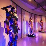 歐雅英雄主題館-各大英雄公仔與雕像.彩虹球池和溜滑梯.都在總太2020接待中心的二樓.免費參觀