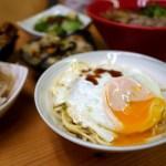 台中肉羹推薦|私肉羹Slogan-半熟蛋滷肉飯、半熟蛋乾麵超讚