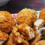 塗城麻辣大腸麵線,麵線加辣菜脯夠麻夠辣,也別忘了加點炸雞排跟花枝丸~