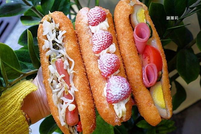 琦玉蛋沙拉(公益店) | 台中下午茶 台中早餐推薦,季節限定,原來古早味營養三明治也可以長得超級美!
