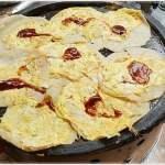 南屯老街美食│無名傳統早餐人潮大爆滿,一次煎8塊煎不完的手工蛋餅,晚來就吃不到
