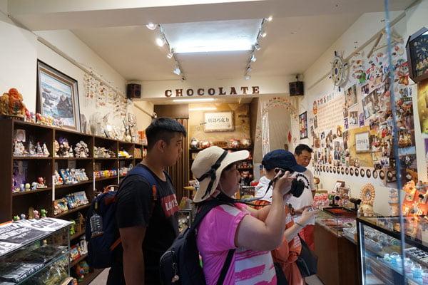 2018 07 17 095751 - 澎湖巧克力│澎湖不倒翁貝殼巧克力就在中央老街