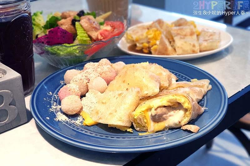 蛋餅控注意啦!吃早餐也能吃到傳統炸湯圓耶!吃光Cacti-純白色平價小清新早午餐店,酥皮蛋餅是主打喔~