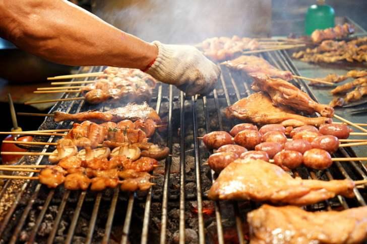2018 09 15 171827 - 烏日觀光夜市│正統烤肉一周營業三天,每天都不同人烤