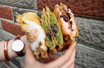 2019 02 04 220106 - 一中商圈可頌鯛魚燒,酥酥的外皮,咬下去還會大爆餡!