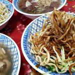 台中涼麵推薦│練武路老店-你吃過涼麵配豬血湯嗎?