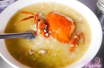 2019 04 30 120420 - 阿美深海鮮魚湯又一台南早餐選擇之一,每日都有新鮮現殺的螃蟹粥,晚來就沒了