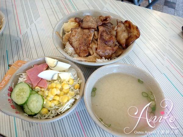 2019 05 03 185251 - 台南永樂市場美食,帶沙拉的永樂燒肉飯,飯後再來個修安扁擔豆花當甜點