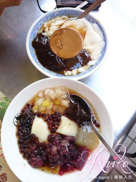 2019 05 03 185312 - 台南永樂市場美食,帶沙拉的永樂燒肉飯,飯後再來個修安扁擔豆花當甜點