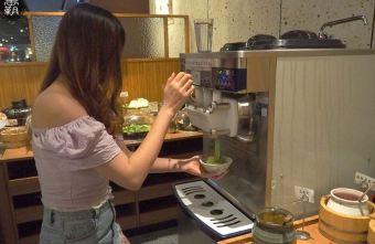 2019 09 30 212909 - 文心秀泰影城吃到飽火鍋,涮乃葉日式涮涮鍋,野菜吧隨你拿食材豐富有質感~