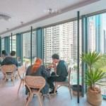 熱血採訪│台中最美窗景甜點咖啡館,欣賞七期夏綠地美景,隱藏台中國家歌劇院的堁夏咖啡Cafe Crotchet