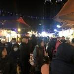 2020台灣燈會新創餐飲市集!攤位多人潮不少,賞燈記得戴口罩