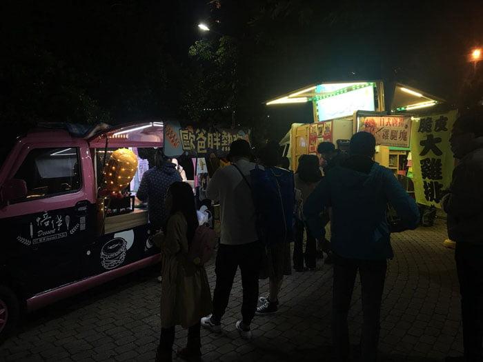 2020 01 28 223106 - 2020台灣燈會新創餐飲市集!攤位多人潮不少,賞燈記得戴口罩