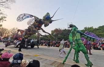 2020 02 11 215801 - 台灣燈會必看表演-全球首演森林機械巨蟲秀,台灣限定一天只有三場