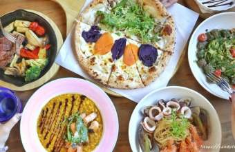 2020 02 18 155331 - 熱血採訪│充滿異國風情的義大利餐廳,手工窯烤披薩現場製作,甜點提拉米蘇也很讚~