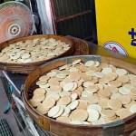 義益食品廠|隱藏臺中科大旁巷內的餅乾工廠,銅板價秤重賣,地瓜片、菜圃餅、海苔鬆餅等古早味餅乾