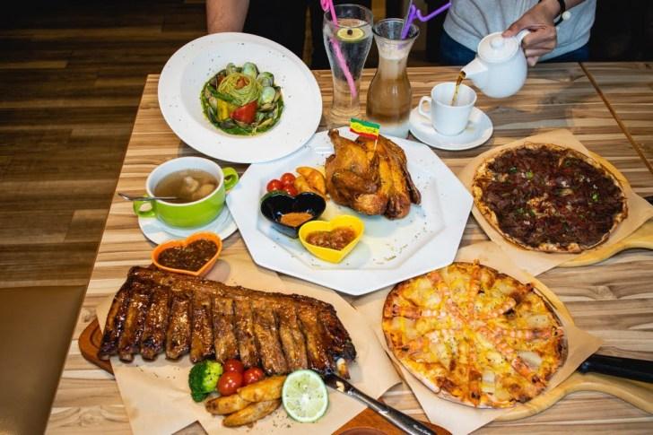 2020 06 05 191230 - 熱血採訪 | 整隻鹿野土雞、懶人蝦披薩、巨無霸豬肋排通通吃起來每人只要300多!