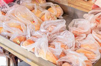 2021 02 23 143952 - 和拳頭有得比的超飽滿新社水煎包!內餡塞好塞滿,甜甜圈、雞翅、雞腿與花枝丸也都是銅板價!