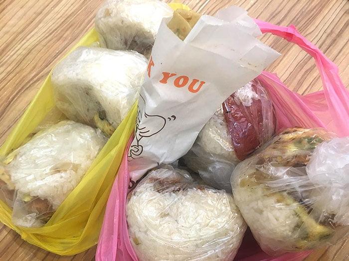 2020 10 06 222558 - 陝西路無名飯糰│料多實在一顆超飽滿,媽媽味的古早味飯糰