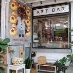 ART BAR|南區咖啡館推薦,可以喝咖啡邊欣賞老闆畫作