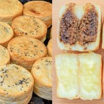 蔡媽媽車輪餅,六種口味每顆只要10元,皮Q餡多超飽滿,買十送一好佛心~