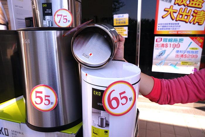 2021 01 17 174402 - 熱血採訪│睽違已久的專櫃eko垃圾桶福利品出清回來了!全台第二場,台中倉庫現場大清倉