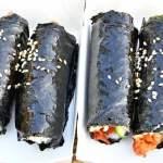 台中韓式飯捲推薦,超可愛mini飯捲,四個只要100元,就在韓式娃娃飯捲