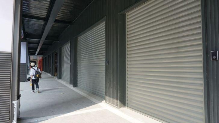 2021 03 20 030526 - 美村路上新地標德鑫時尚廣場,停車場已開始試營運,一樓大家最期待哪些店家進駐呢