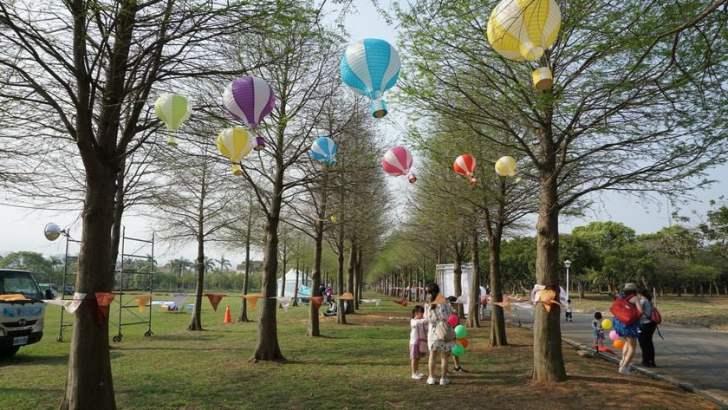 2021 04 02 233305 - 台中也有熱氣球!繽紛療癒好好拍,還可體驗熱氣球繫留,從天空俯視整座城市
