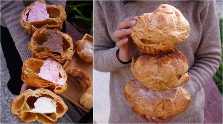 2021 05 09 004054 - 巷子裡的低調麵包店,隱藏版巨無霸泡芙你吃過嗎?