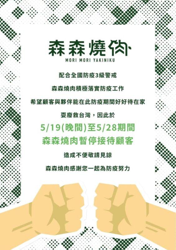 2021 05 20 204221 - 台中人氣餐廳、連鎖集團暫停營業懶人包