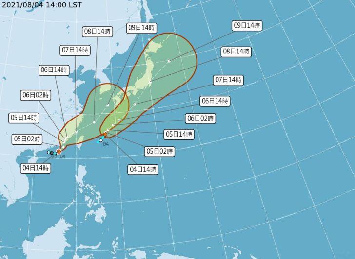 2021 08 04 172041 - 輕颱盧碧今日下午已發布海警!超強對流恐為中南部帶來豪大雨