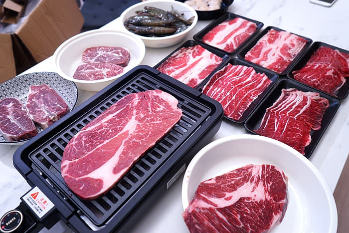 2021 09 01 022214 - 熱血採訪│男子漢燒肉!比臉大牛排在家吃到飽,+1元送電烤盤